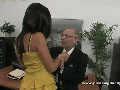 boss  fuck  old and young  secretary  young