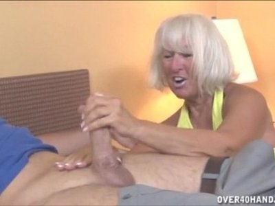gay  granny  jerking  young