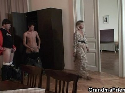 3some  action  lady  mature  old and young