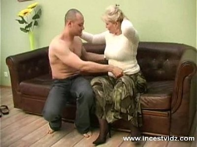 blonde  gay  mommy  sofa  young