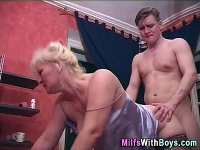 blonde  doggy  fuck  older woman