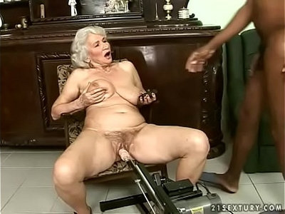 granny   interracial   older woman